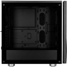 Gabinete Gamer Corsair Carbide SPEC-06 RGB, Mid Tower, Com 2 Fan, Vidro temperado, Black, S-Fonte, CC-9011146-WW