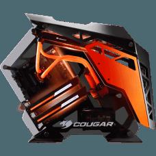 Gabinete Gamer Cougar Conquer 385LMR0.0001 Vidro Temperado Mid Tower Preto S/Fonte