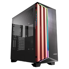 Gabinete Gamer Cougar Dark Blader S RGB, Full Tower, Black, Sem Fonte, Com 1 Fan