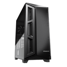Gabinete Gamer Cougar DarkBlader X5, Mid Tower, Vidro Temperado, Black, ATX, Sem Fonte, Com 1 Fan, 385UM30-0001