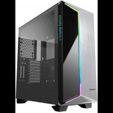 Gabinete Gamer Cougar Darkblander G RGB, Mid Tower, Com 1 Fan, Vidro Temperado, Black, S-Fonte