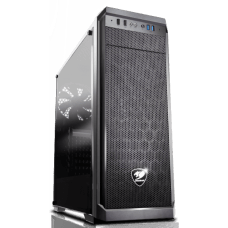 Gabinete Gamer Cougar MX330 385NC10.0002 Lateral em Acrílico Mid Tower Preto S/Fonte