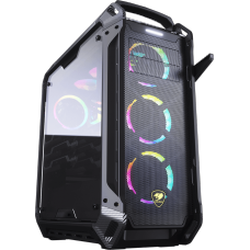Gabinete Gamer Cougar Panzer MAX-G, Full Tower, Com 1 Fan, Vidro Temperado, Black, Sem Fonte, 106AMK0015-00