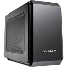 Gabinete Gamer Cougar QBX, Mini Tower, Com 1 Fans, Black, Sem Fonte