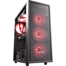 Gabinete Gamer DeepCool E-Shield, Mid Tower, Com 1 Fan, Back, S-Fonte, DP-ATX-E-SHIELD