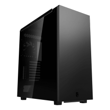 Gabinete Gamer DeepCool, Macube 550, Full Tower, Vidro Temperado, Black, Sem Fonte, Com 1 Fan, GS-ATX-MACUBE550-BKG0P