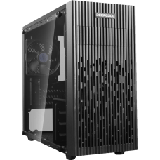 Gabinete Gamer DeepCool Matrexx 30, Mini Tower, Vidro Temperado, Black, S-Fonte, DP-MATX-MATREXX30