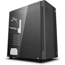 Gabinete Gamer DeepCool Matrexx 50 Mesh, Mid Tower, S-Fan, Vidro temperado, Black, S-Fonte, DP-ATX-MATREXX55-MESH