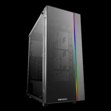 Gabinete Gamer DeepCool MATREXX 55 ADD-RGB, Mid Tower, S-Fan, Vidro Temperado, Black, S-Fonte, MATREXX 55 ADD-RGB BLACK
