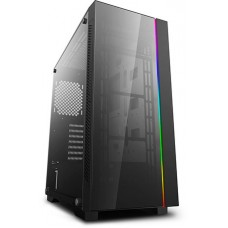 Gabinete Gamer DeepCool MATREXX 55 ADD-RGB V3, Mid Tower, Vidro Temperado, Black, Sem Fonte, Sem Fan