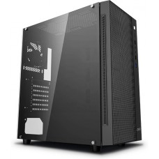 Gabinete Gamer DeepCool Matrexx 55 Mesh, Mid Tower, S-Fan, Vidro temperado, Black, S-Fonte, DP-ATX-MATREXX55-MESH