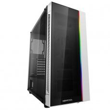 Gabinete Gamer DeepCool Matrexx 55 V3, ARGB, Mid Tower, Vidro Temperado, White, DP-ATX-MATREXX55-AR-WH, S/Fonte, S/Fan