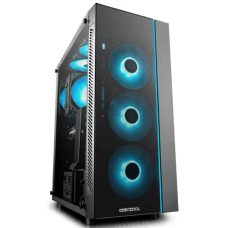 Gabinete Gamer DeepCool Matrexx 55, Mid Tower, Vidro Temperado, Black, S-Fonte, DP-ATX-MATREXX55