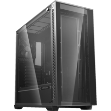 Gabinete Gamer DeepCool Matrexx 70, Mid Tower, Vidro Temperado, Black, Sem Fonte, DP-ATX-MATREXX70-BKG0P