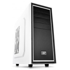 Gabinete Gamer DeepCool Tesseract WH, Mid Tower, Com 1 Fan, White, Sem Fonte, DP-CCATX-TSRWHBF
