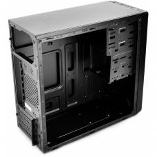 Gabinete Gamer DeepCool Wave V2, Mid Tower, Black, S-Fonte, DP-MATX-DPWAVE2