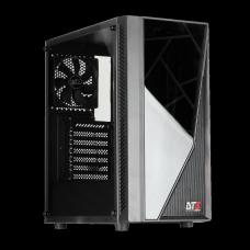 Gabinete Gamer DT3sports Lynx, Mid Tower, Black, ATX, Sem Fonte, Com 1 Fan
