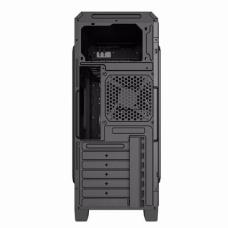 Gabinete Gamer Gamemax ECO G561 Plus, Mid Tower, Com 3 Fans Blue, Black, S-Fonte