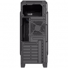 Gabinete Gamer Gamemax ECO G561 Plus, Mid Tower, Com 3 Fans Red, Black, S-Fonte