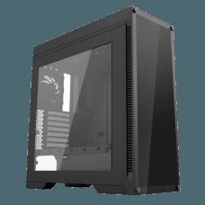 Gabinete Gamer GameMax Infinit M908 GGM RGB, Mid Tower, Com 3 Fans, Vidro Temperado, Black, S-Fonte