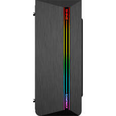 Gabinete Gamer Gamemax Shine G517, Mid Tower, Com 1 Fan, Vidro Temperado, Black, S-Fonte