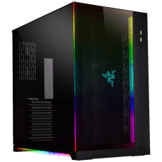 Gabinete Gamer Lian Li Dynamic Razer Edition RGB, Mid Tower, Vidro Temperado, Black, S-Fonte