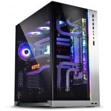 Gabinete Gamer Lian Li O11 Dynamic XL, Full Tower, Vidro Temperado, Silver, S-Fonte