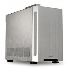 Gabinete Gamer Lian Li TU150A, Mini Tower, Silver, Sem Fonte, Sem Fan