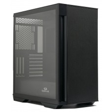 Gabinete Gamer ReDragon Demolisher, Mid Tower, Vidro Temperado, Black, ATX, Sem Fonte, Sem Fan, GC-706B