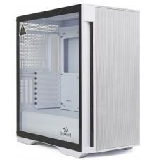 Gabinete Gamer ReDragon Demolisher, Mid Tower, Vidro Temperado, White, ATX, Sem Fonte, Sem Fan, GC-706W
