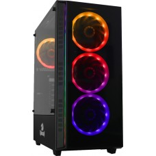 Gabinete Gamer Redragon, Grapple, Mid Tower, Vidro Temperado, Black, Sem Fonte, Sem Fan