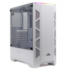 Gabinete Gamer Redragon Starscream, Mid Tower, Vidro Temperado, White, Sem Fonte, Sem Fan, GC-610W
