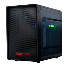 Gabinete Gamer Riotoro, Mid Tower, Black, Sem Fonte, Com 1 Fan, CR1080
