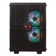Gabinete Gamer Riotoro Morpheus, Mini/Mid Tower, Com 3 Fans, Black, S-Fonte, GPX100