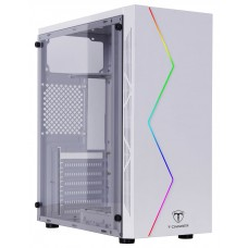 Gabinete Gamer T-Dagger P03W, Mid Tower, RGB, White, ATX, Sem Fonte, Sem Fan, TGC-P03W - Open Box