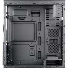 Gabinete Gamer Mymax Dragon, Mid Tower, Black-Orange, S-fonte, MCA-FC-F75/OR