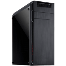 Gabinete Gamer Mymax Dragon, Mid Tower, Black, S-Fonte, MCA-FC-F75/SL