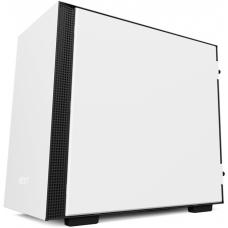 Gabinete Gamer NZXT H200i Smart, Mid Tower, Com 2 Fans, Vidro Temperado, White, S-Fonte, CA-H200W-WB