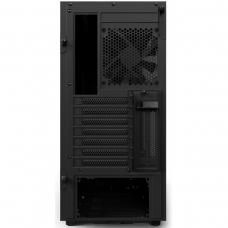 Gabinete Gamer NZXT H500I, Mid Tower, Com 2 Fans, Vidro Temperado, Black, S-Fonte, CA-H500W-B1