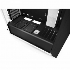 Gabinete Gamer NZXT S340, Mid Tower, Com 2 Fans, White ,S-Fonte, CA-S340W-W1