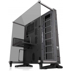 Gabinete Gamer Thermaltake Core P5 TG Titanium Edition, Mid Tower, Vidro Temperado, Black, S-Fonte, CA-1E7-00M9WN-00