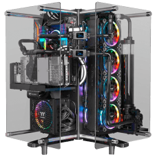 Gabinete Gamer Thermaltake Core P90, Mid Tower, Vidro Temperado, Black, S-Fonte, CA-1J8-00M1WN-00