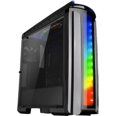 Gabinete Gamer Thermaltake Versa C22 RGB, Mid Tower, Com 1 Fan, Black, S-Fonte, CA-1G9-00M1WN-00