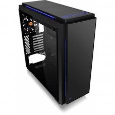Gabinete Gamer Thermaltake Versa C23 TG RGB, Mid Tower, Com 1 Fan, Vidro Temperado, Black, S-Fonte, CA-1H7-00M1WN-00