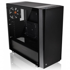 Gabinete Gamer Thermaltake Versa J21 TG, Mid Tower, Com 1 Fan, Vidro Temperado, Black, S-Fonte, CA-1K1-00M1WN-00