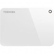 HD Externo Portátil Toshiba Canvio Advance 1TB HDTC910XW3AA USB 3.0 Branco