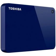 HD Externo Portátil Toshiba Canvio Advance 2TB, USB 3.0, Azul, HDTC920XL3AA