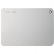 HD Externo Portátil Toshiba Canvio Premium 3TB HDTW230XS3CA USB 3.0 Prata