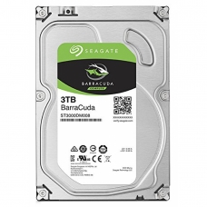 HD Seagate BarraCuda 3TB, Sata III, 7200RPM, 64MB, ST3000DM008