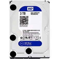 HD Western Digital Blue 3TB, Sata III, 5400RPM, 64MB, WD30EZRZ